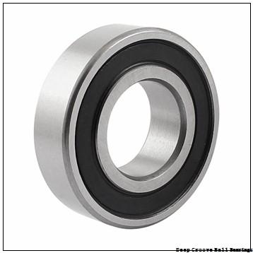 75 mm x 140 mm x 82.6 mm  NACHI UCX15 deep groove ball bearings