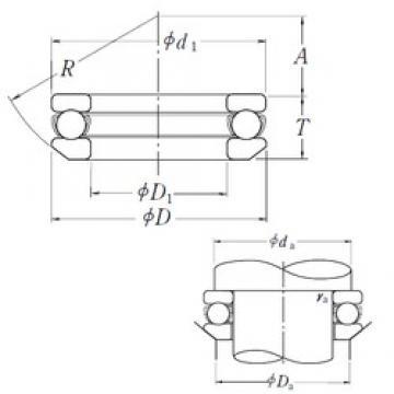 NSK 53332X thrust ball bearings