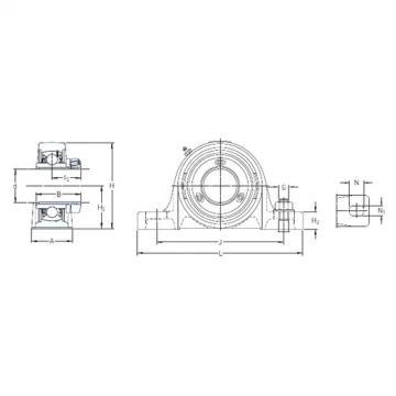 SKF SY 25 PF bearing units