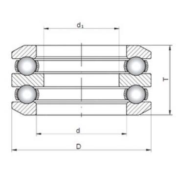 ISO 54308 thrust ball bearings