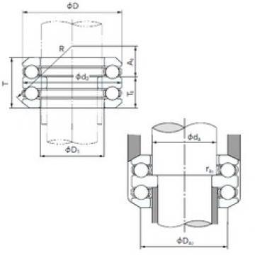 NACHI 54240 thrust ball bearings