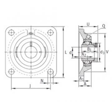 INA RCJ90 bearing units