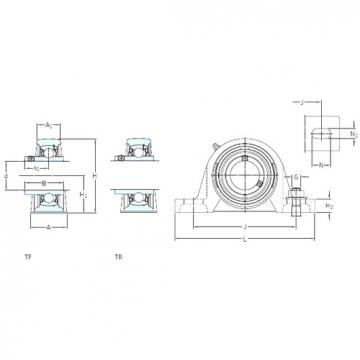 SKF SYH 1. WF bearing units