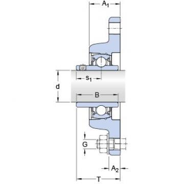 SKF FYT 45 TF/VA228 bearing units
