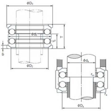 NACHI 54213U thrust ball bearings