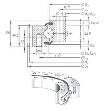 INA VSA 20 1094 N thrust ball bearings