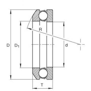INA 503 thrust ball bearings