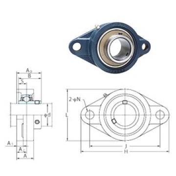 FYH UCFL322 bearing units