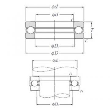 NTN 51124 thrust ball bearings