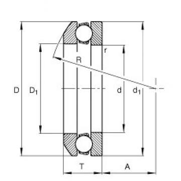 FAG 53310 thrust ball bearings
