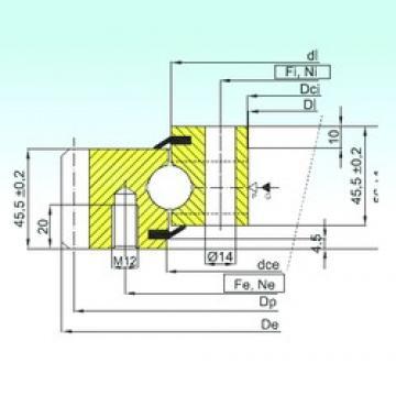 ISB EB1.20.0314.201-2STPN thrust ball bearings