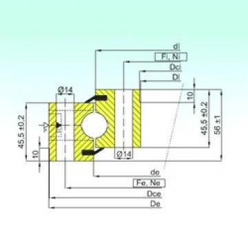 ISB NB1.20.1094.201-2PPN thrust ball bearings