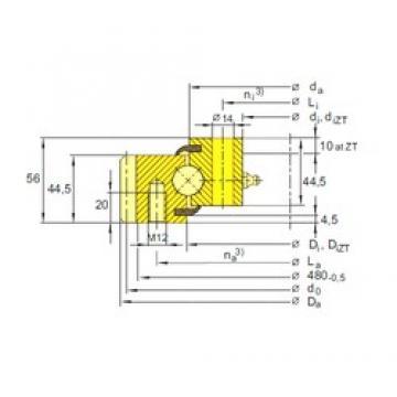 SIGMA ESA 20 0844 thrust ball bearings