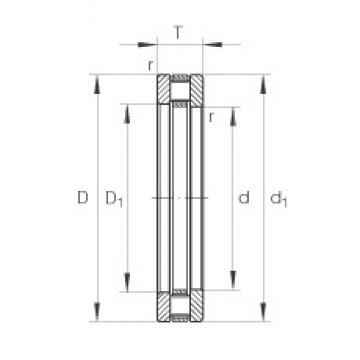 INA 81126-TV thrust roller bearings
