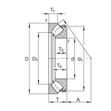 FAG 29364-E1 thrust roller bearings