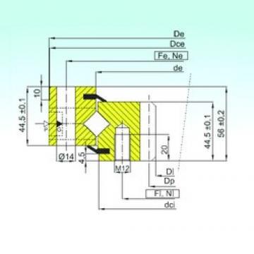 ISB ZR1.14.0544.200-1SPTN thrust roller bearings