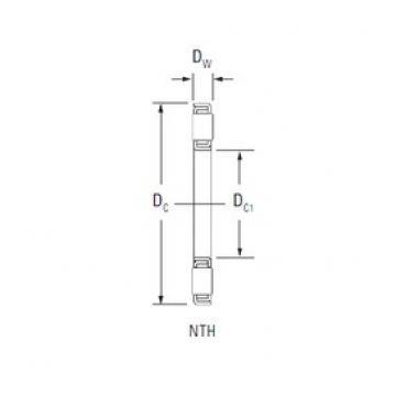 Timken NTH-4472 thrust roller bearings