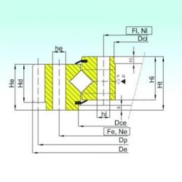 ISB ER1.25.0734.400-1SPPN thrust roller bearings