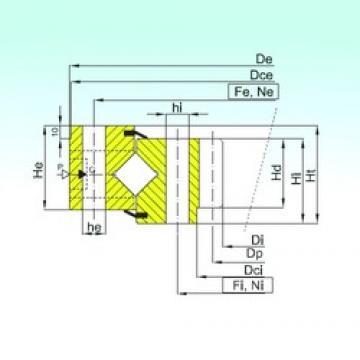 ISB ZR1.25.0849.400-1SPPN thrust roller bearings