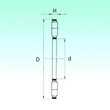 NBS K89417-M thrust roller bearings