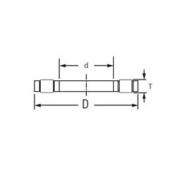 Timken K.81218LPB thrust roller bearings