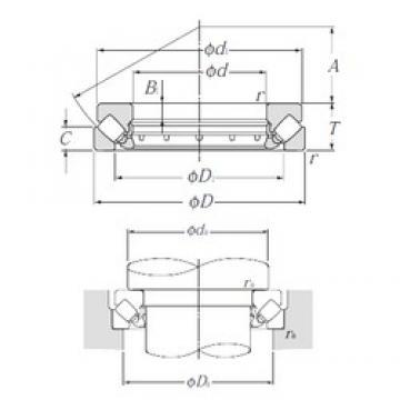 NTN 292/500 thrust roller bearings