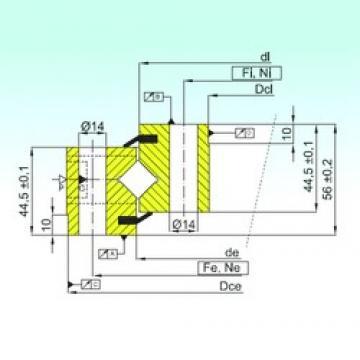 ISB NR1.14.0644.201-3PPN thrust roller bearings