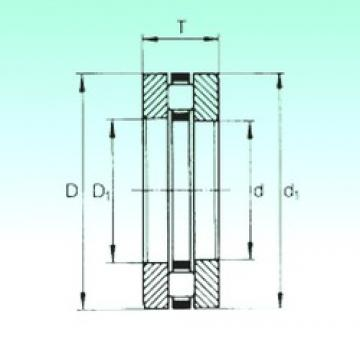 70 mm x 105 mm x 8 mm  NBS 81214TN thrust roller bearings