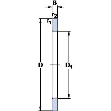 SKF GS 81213 thrust roller bearings