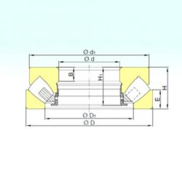 400 mm x 710 mm x 138 mm  ISB 29480 M thrust roller bearings