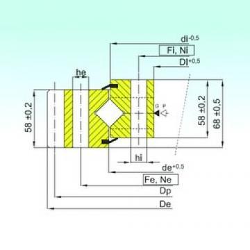 ISB ER1.16.1314.400-1SPPN thrust roller bearings