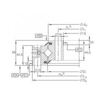 INA XSU 14 0644 thrust roller bearings