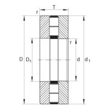 INA 89426-M thrust roller bearings
