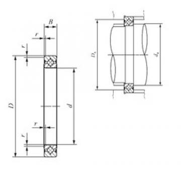 60 mm x 76 mm x 8 mm  IKO CRBS 608 V thrust roller bearings