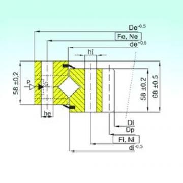 ISB ZR1.20.1904.400-1SPPN thrust roller bearings