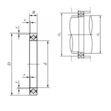 160 mm x 186 mm x 13 mm  IKO CRBS 16013 thrust roller bearings