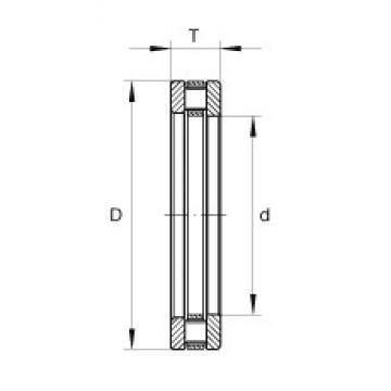 INA RTL28 thrust roller bearings