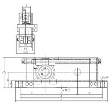 KOYO UCTU210-800 bearing units