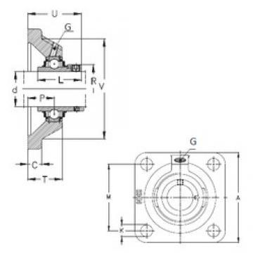 NKE RCJO100 bearing units
