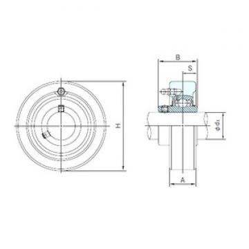 NACHI UCC205 bearing units