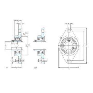 SKF FYT 1/2 TF bearing units