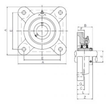ISO UCF305 bearing units