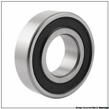25,4 mm x 80 mm x 36,52 mm  PFI W208PPB6 deep groove ball bearings