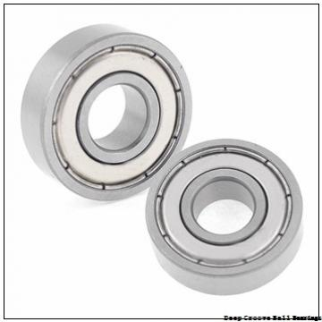 45 mm x 58 mm x 7 mm  NACHI 6809 deep groove ball bearings