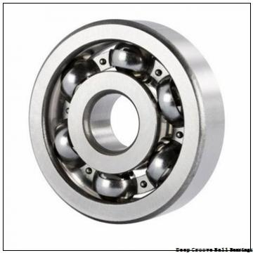 55 mm x 100 mm x 21 mm  SKF 6211-ZNR deep groove ball bearings