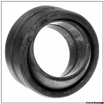 75 mm x 120 mm x 64 mm  LS GEF75ES plain bearings