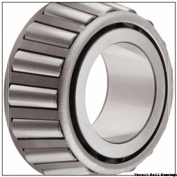 100 mm x 170 mm x 21 mm  NSK 54320 thrust ball bearings