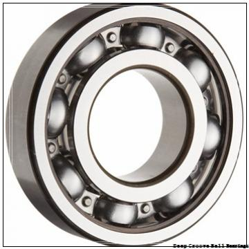 3 mm x 9 mm x 5 mm  ZEN S603-2Z deep groove ball bearings
