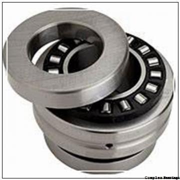 55 mm x 115 mm x 17,5 mm  INA ZARN55115-TV complex bearings