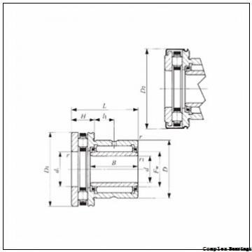 40 mm x 90 mm x 16 mm  INA ZARN4090-L-TV complex bearings